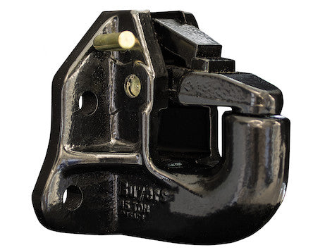 45 Ton Air Compensated Pintle Hook with 4 Mounting Holes