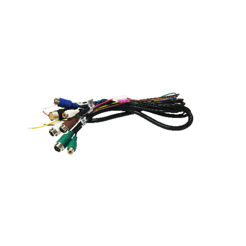 Power Cable: 4 camera, 4 pin, use with EC7000-QM