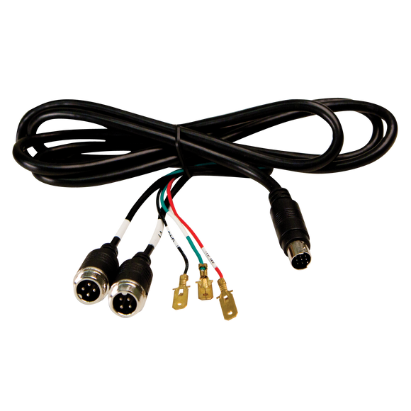 Power Cable: 2 camera, 4 pin, without noise suppression filter (Aug 2014 on), use with M7000B (C2013B or EC2014-C cameras only)