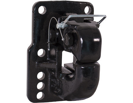 50 Ton Air Compensated Pintle Hook with 10 Mounting Holes