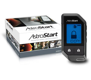 Astrostart 5325 2-Way LCD Vehicle Remote Starter