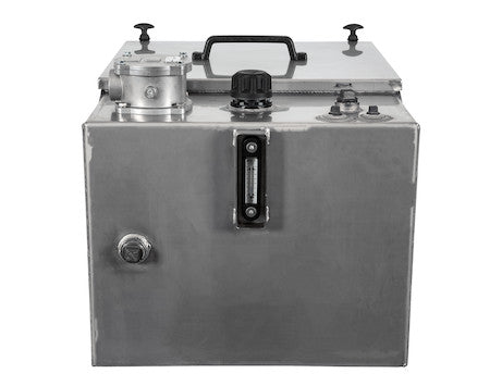 30 Gallon Stainless Steel Reservoir With Enclosure