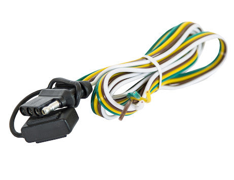 Vehicle-Side 4-Way (Flat) Replacement Cable