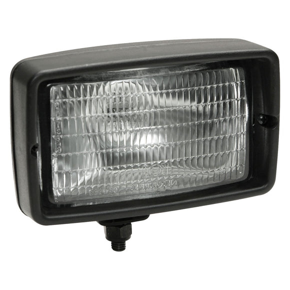Worklamp: Halogen, flood beam, rectangular, 12VDC