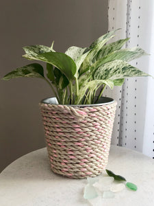 Lobster Rope Plant Pot