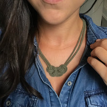 Load image into Gallery viewer, Cabot Necklace - Olive Green