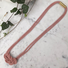 Load image into Gallery viewer, Cabot Necklace - Blush Pink
