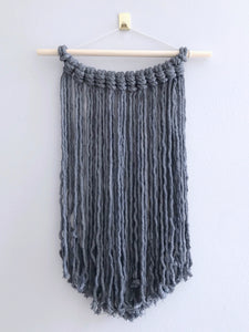 Blue/Grey Macrame Wall Hanging