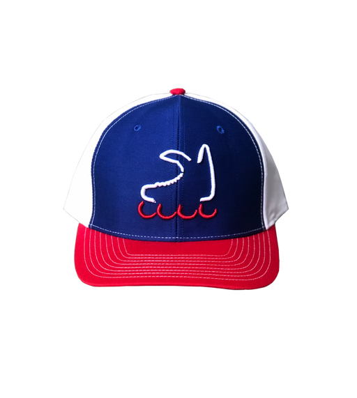 Roller Season - Red, White & Blue Hat