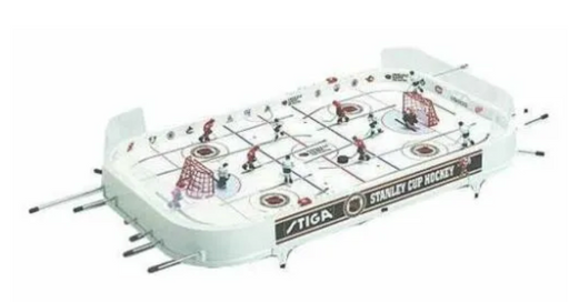 Stiga NHL Stanley Cup Hockey Table Top Rod Hockey Game