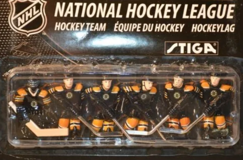 Stiga NHL Table Top Hockey Replacement Team Packs For Stiga Rod Hockey Game