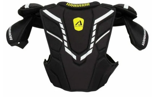 Warrior Alpha DX3 Shoulder Pads - Senior