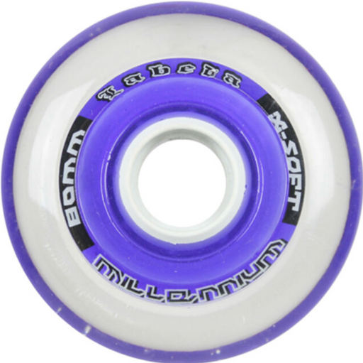 Labeda Millennium Gripper Purple X-SOFT Roller Skate Wheels