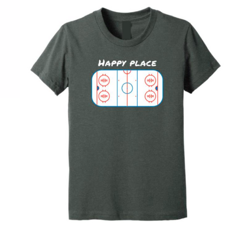 Goodwood Hockey Happy Place Mens Tee Shirt