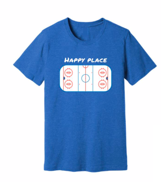 Happy Place Goodwood Hockey Happy Place Youth Tee Shirt