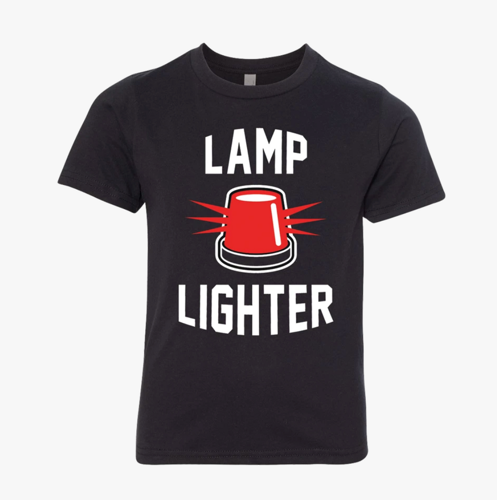 Lamp Lighter Goodwood Hockey Happy Place Youth Tee Shirt