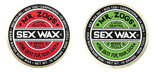 Mr. Zog's Sex Wax Hockey Stick Wax 2-Pack