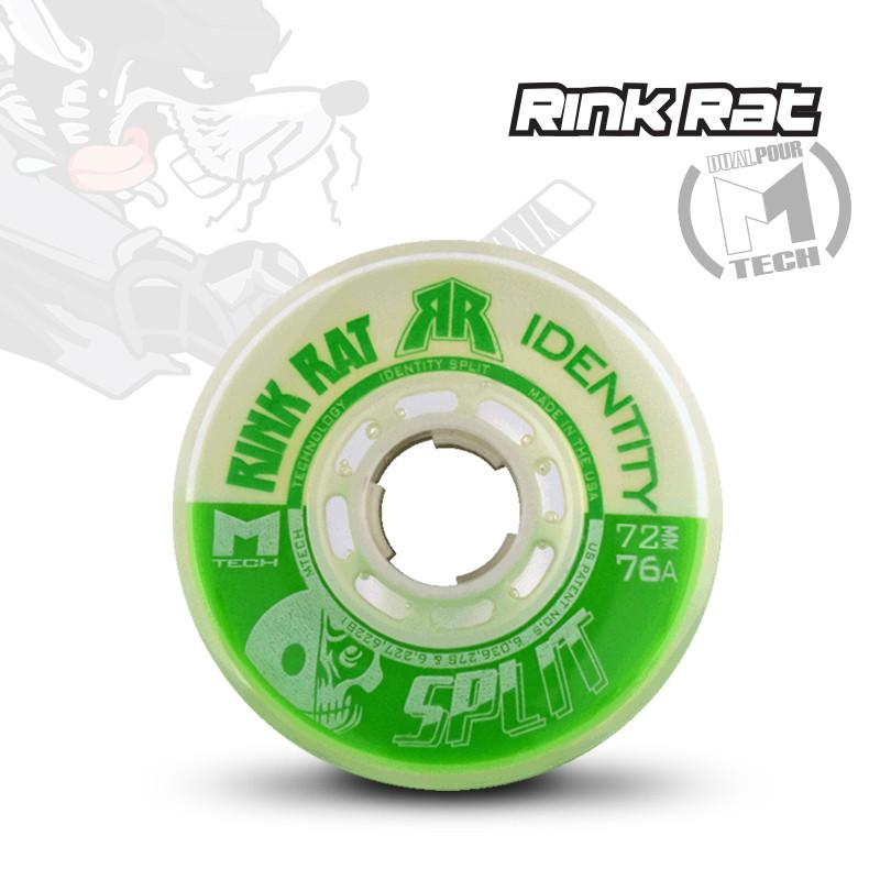 Rink Rat Identity Split Roller Hockey Wheels