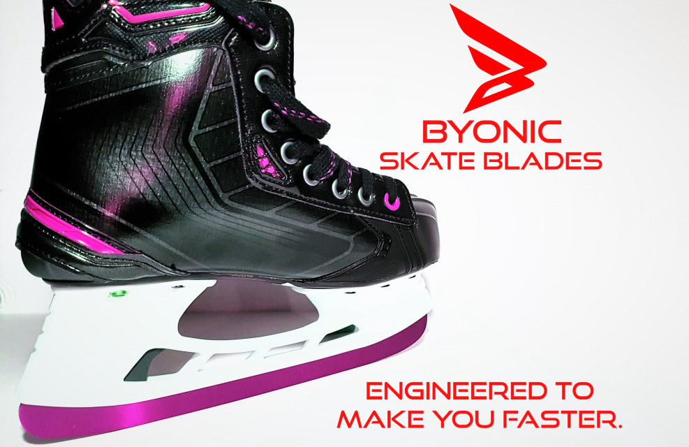 Byonic Skate Blades Bauer Edge Replacement