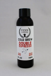 Cold Brew Double Espresso Shots - 6 Pack