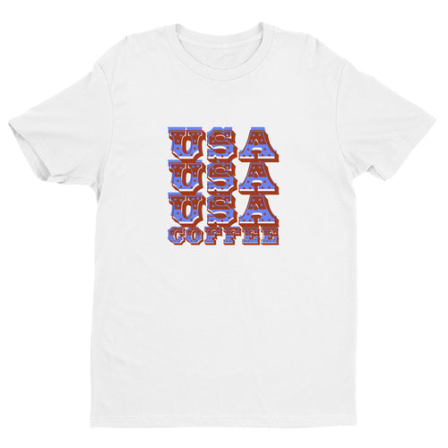 Short Sleeve USA T-Shirt