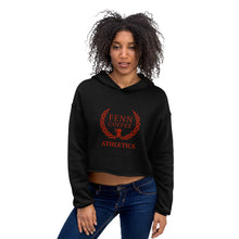 Load image into Gallery viewer, Fenn Coffee Athletics Crop Hoodie