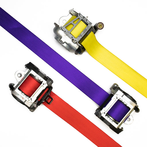 Custom Color Seatbelts