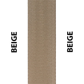 Beige Seat Belt Webbing Replacement Strap