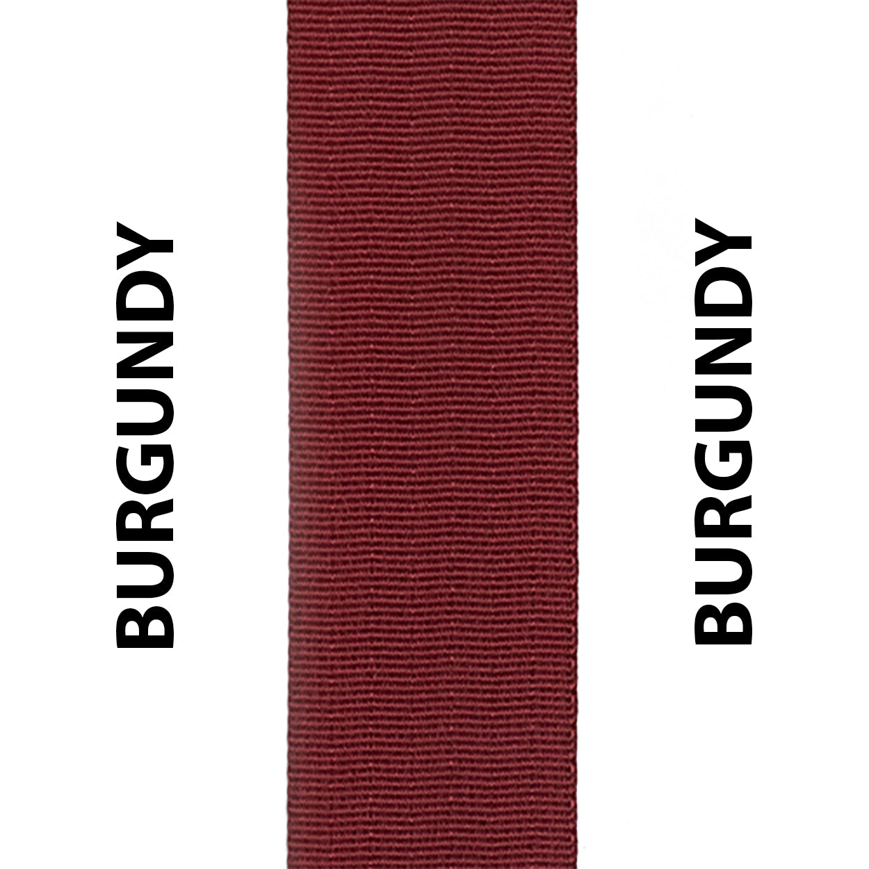 Burgundy Seat Belt Webbing Replacement Strap