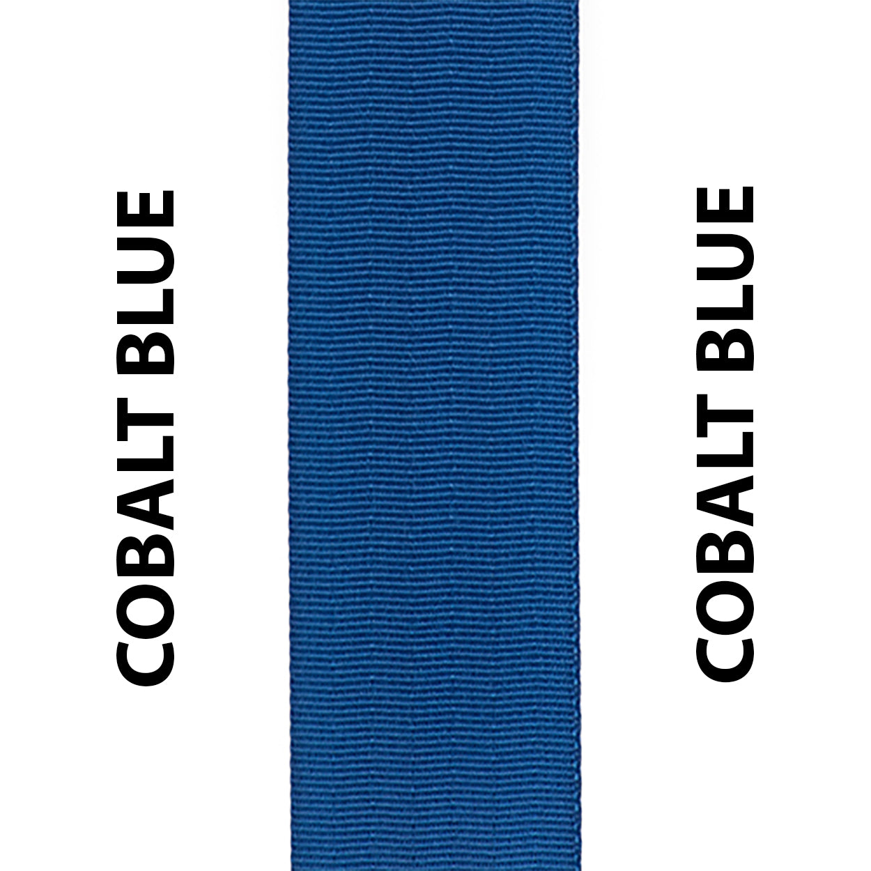 Cobalt Blue Seat Belt Webbing Replacement Strap