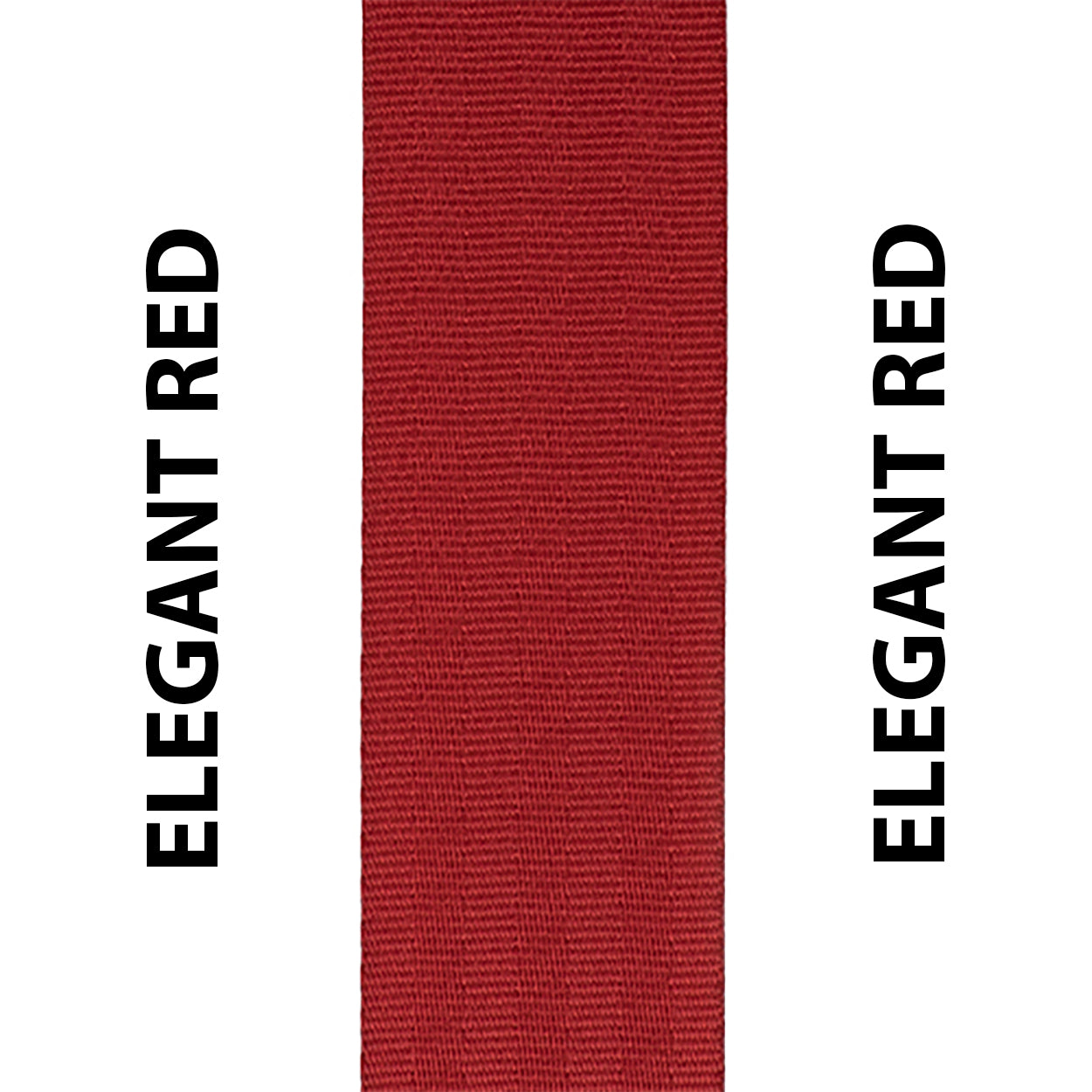 Elegant Red Seat Belt Webbing Replacement Strap
