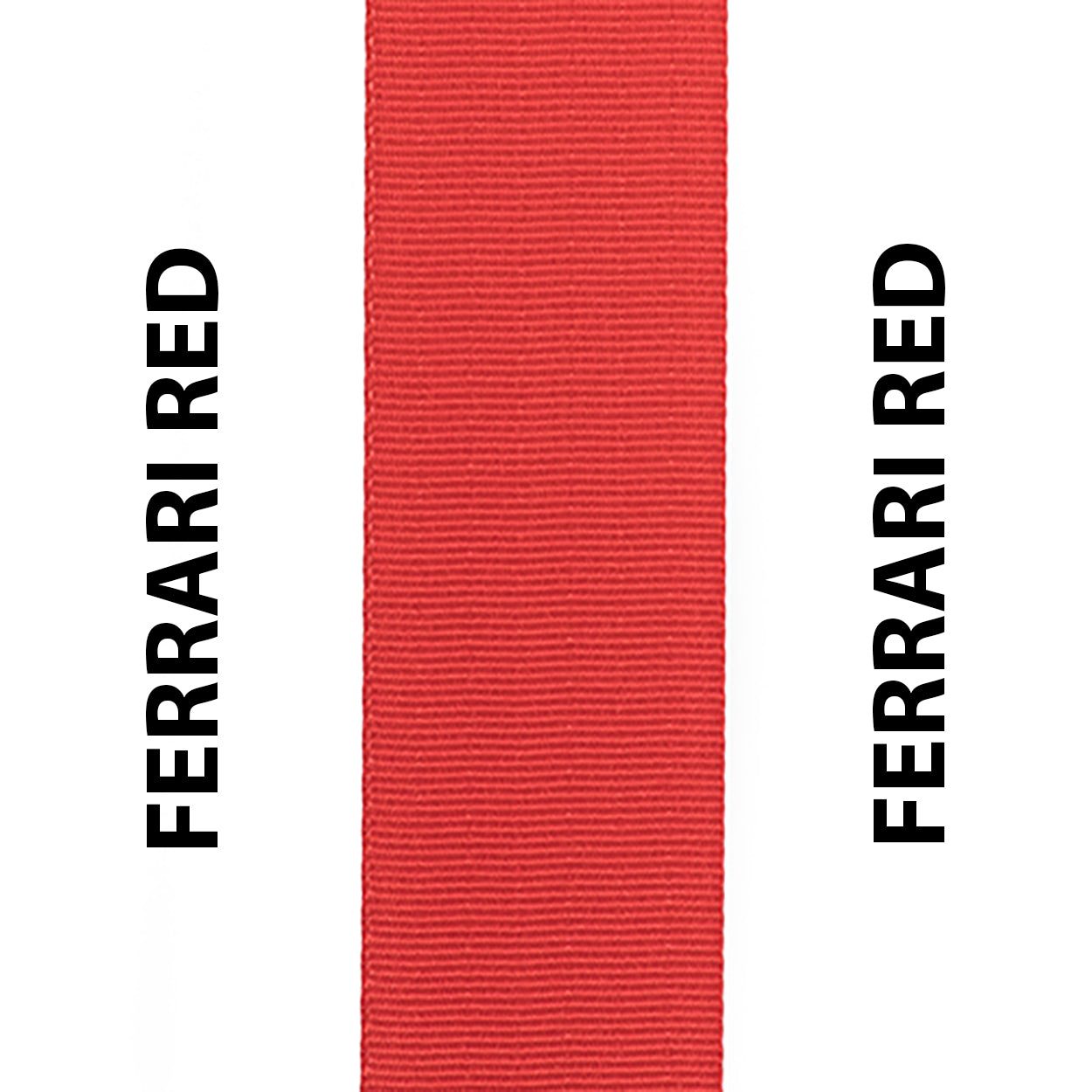 Ferrari Red Seat Belt Webbing Replacement Strap