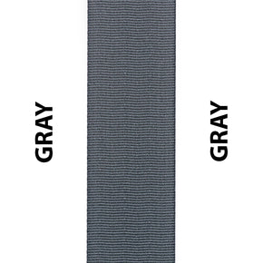 Gray / Grey Seat Belt Webbing Replacement Strap