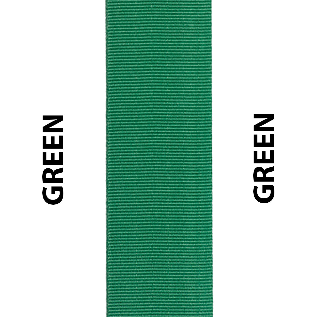Green Seat Belt Webbing Replacement Strap