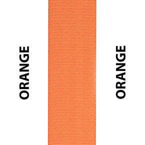 Orange Seat Belt Webbing Replacement Strap