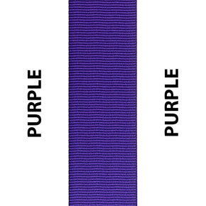 Purple Seat Belt Webbing Replacement Strap