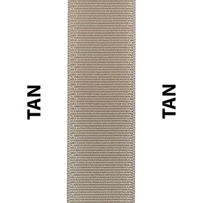 Tan Seat Belt Webbing Replacement Strap
