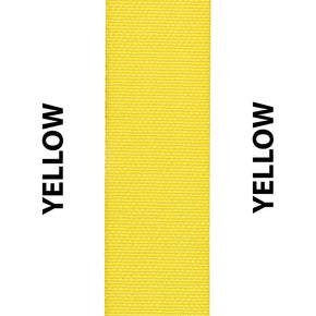 Yellow Seat Belt Webbing Replacement Strap