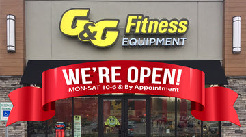 G&G FITNESS RETAIL STORES UPDATE 7/22/2020