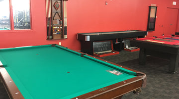 New Brunswick Billiards Showroom in Rochester Store