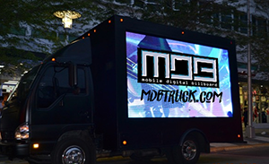 Gordy Gronkowski's new business: Mobile Digital Billboard