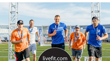 Stadium Blitz with the Gronkowskis in Buffalo