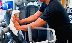 5 steps to reopen a gym - Step 2 Professional Disinfecting and Cleaning Services for Fitness Centers