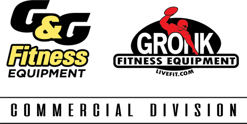 G&G Fitness Equipment And Gronk Fitness Commercial Logo