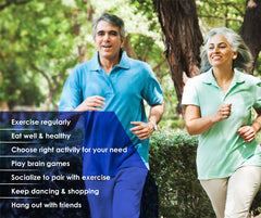 how to keep fit after retirement