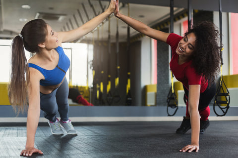 a personal trainer can become a good friend. They will motivate and encourage you.