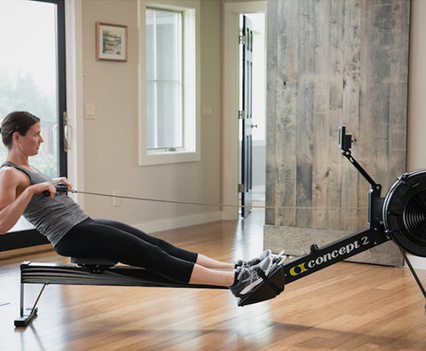 Home fitness equipment rower