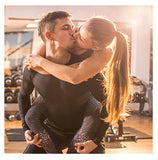 couple workout together