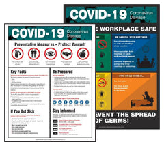 covid corona workplace safety posters