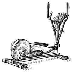 elliptical drawing history and purpose of elliptical trainers